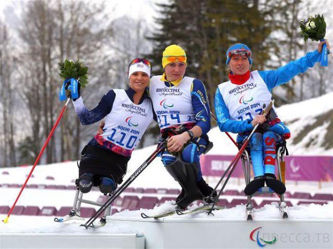 Сильныце духом люди - спортсмены-паралимпийцы (22 фото)