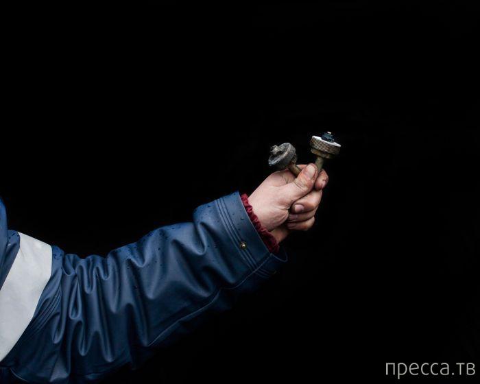 Самодельное оружие повстанцев Майдана (17 фото)
