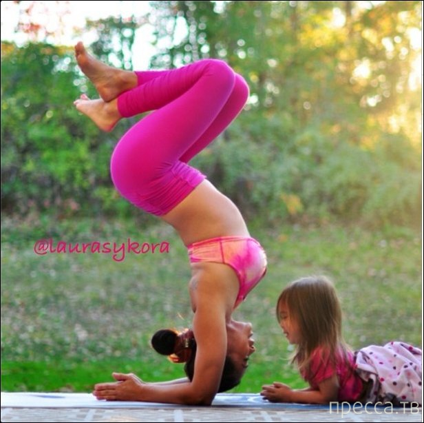 Йога-инстаграм покорил интернет (31 фото)