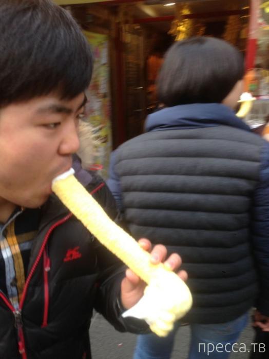 А вы бы попробовали южнокорейское мороженое? (4 фото)