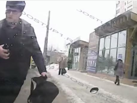 Психованный пешеход с пистолетом... ДТП в г. Челябинск