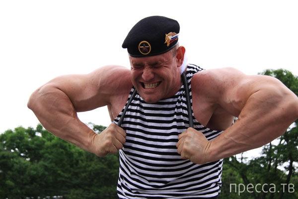 Русский морпех Михаил Шевляков стал победителем турнира Арнольда Шварценеггера (5 фото)