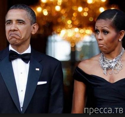 Русские не потеют... Политическая сатира