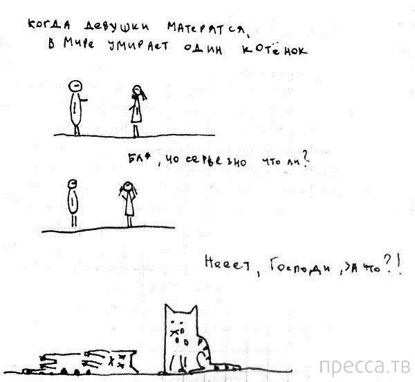Веселые комиксы и карикатуры, часть 102 (14 фото)