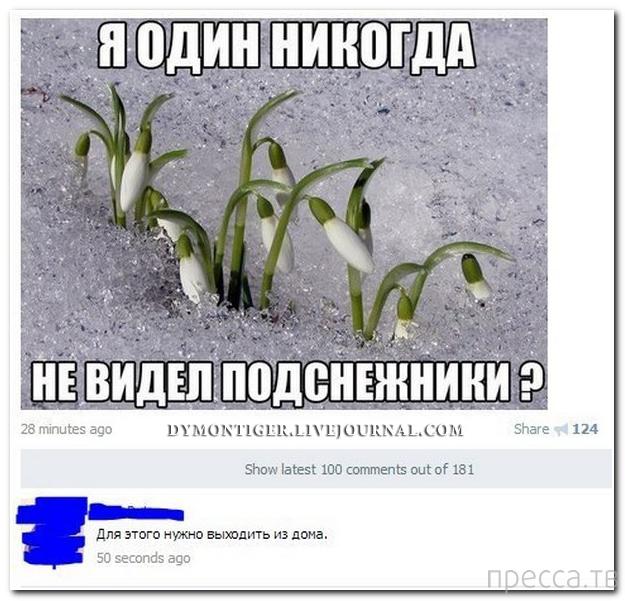 Прикольные комментарии из социальных сетей, часть 80 (37 фото)