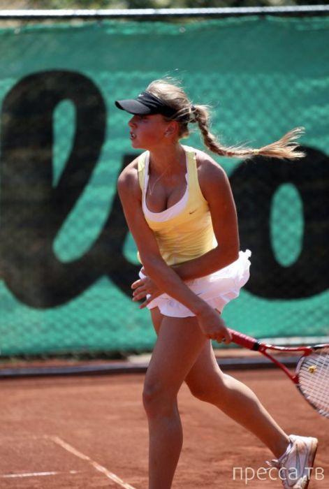 Анна Смолина - восходящая звезда российского тенниса (21 фото)