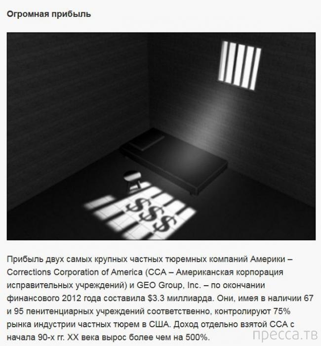 Правда о тюрьмах в США (9 фото)