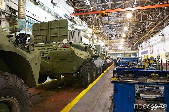 Как собирают БТР на Арзамаском машиностроительном заводе (26 фото)