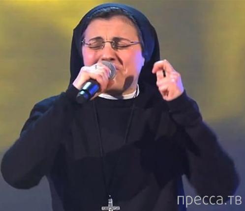 Видео выступления монахини на шоу ''Голос Италии'' стало интернет-сенсацией
