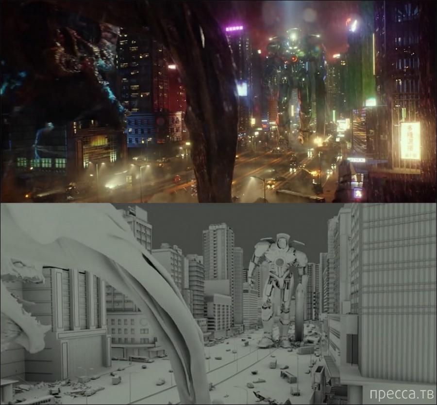 Как выглядят современные фильмы, если убрать визуальные эффекты (26 фото)