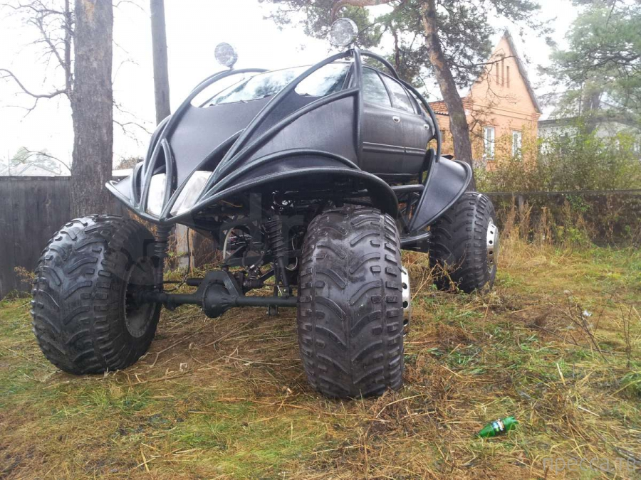Автомобиль для русской зимы (7 фото)