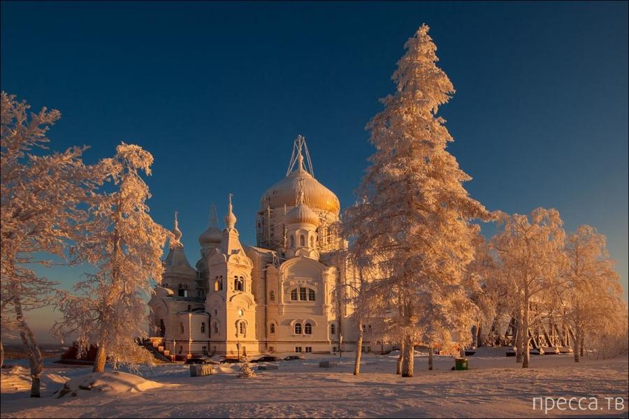 Русская зима от фотографа Владимира Чуприкова (6 фото)