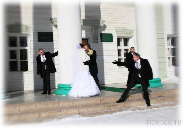"""""""Шедевры"""" свадебных фотографов с претензией на оригинальность (20 фото)"""