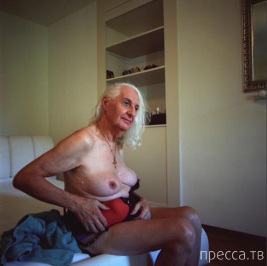 "Проект фоторепортера Малики Годен-Делрье о жизни ""ночной бабочки""-пенсионерки (14 фото)"