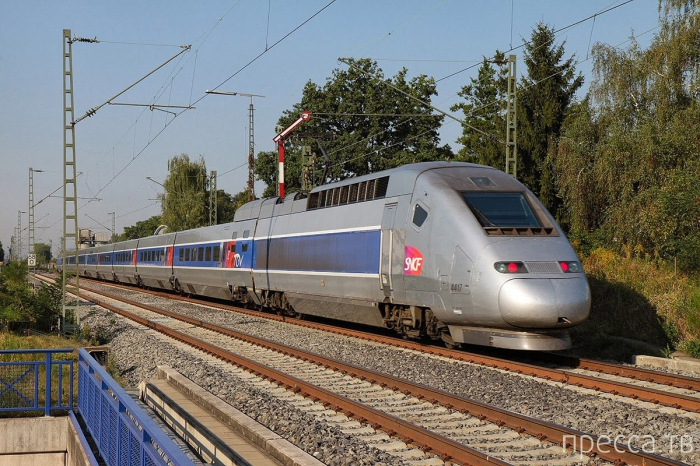 Топ 7: Самые скоростные железнодорожные линии (11 фото)