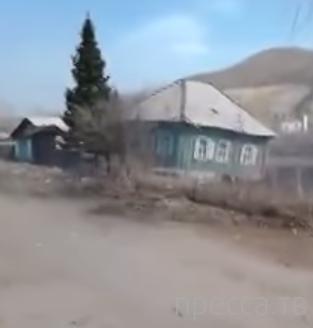 6 домов провалились под землю... г. Риддер, Казахстан
