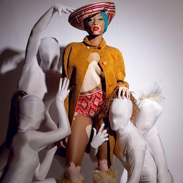 Винни Харлоу - необычная модель из Канады (30 фото)