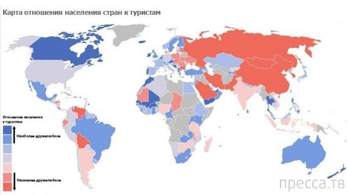 Пикантные факты о странах мира (35 фото)