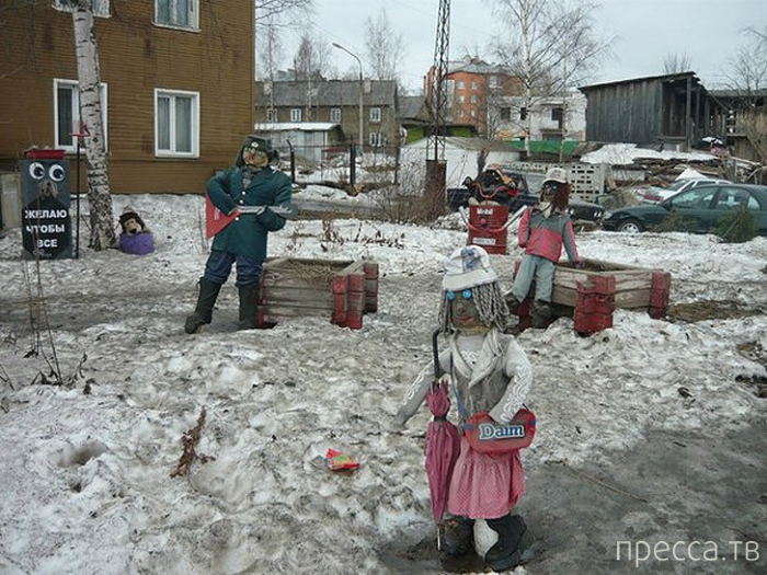 Психоделические детские площадки во дворах России (36 фото)