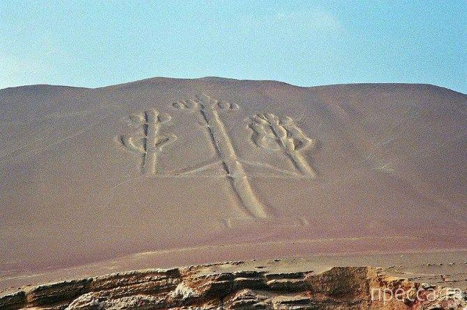 Знаменитые геоглифы мира (6 фото)