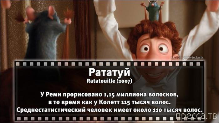 Интересные факты об известных фильмах (32 фото)