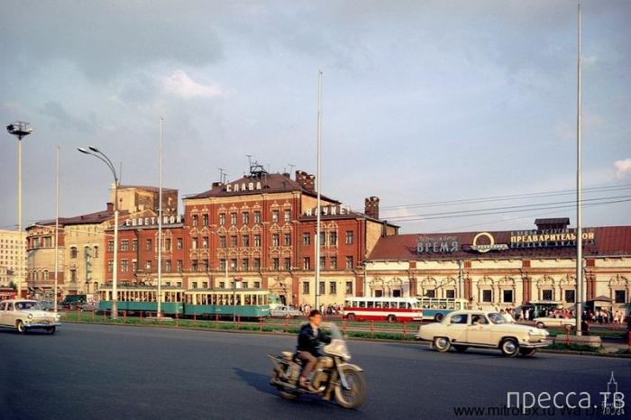 Ностальгия по СССР: Москва в 60-е годы (24 фото)