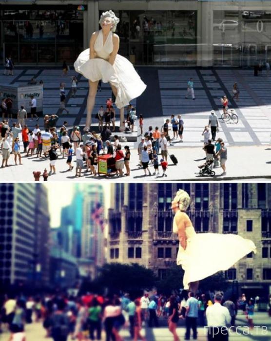 Топ 15: Самые удивительные гигантские арт-инсталляции в мире (17 фото)