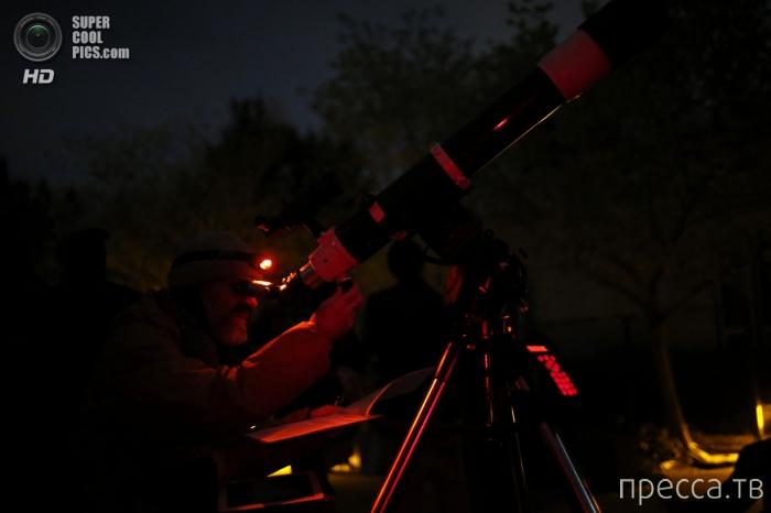Полное лунное затмение - 15 апреля 2014 (11 фото)