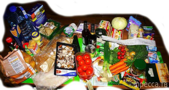 Уровень цен на продукты питания в Чехии (16 фото)