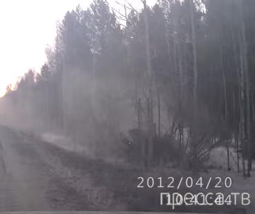 Двойной обгон... ДТП на трассе между Верхней и Нижней Салдой, Свердловской области