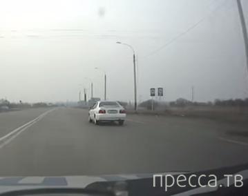 Пришлось стрелять по колесам... Погоня и задержание пьяного водителя в Зиминском районе, Иркутской области