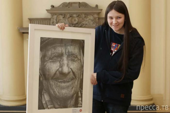 Уникальный рисунок ирландской школьницы (4 фото)