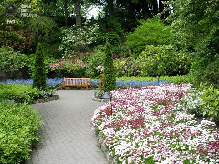 Сады Бучартов на острове Ванкувер в Канаде (12 фото)