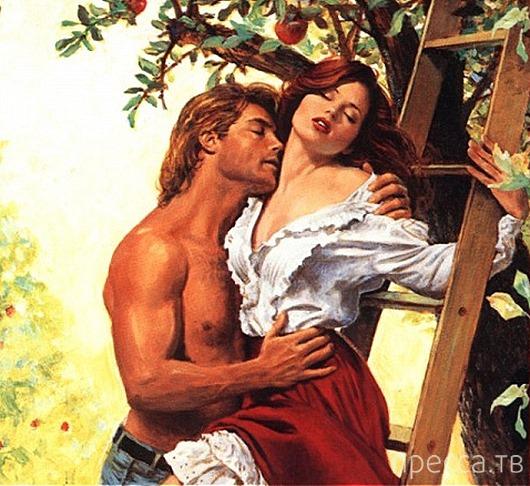 Прикольные ляпы женских любовных романов (8 фото)