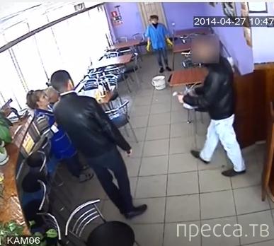 Глупейшее ограбление кафе... г. Энгельс, Саратовская область