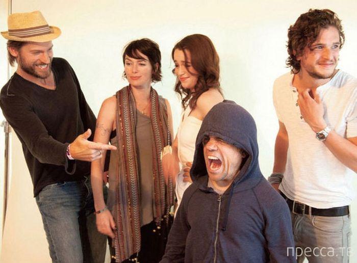 """Актеры из сериала """"Игра престолов"""" в обычной жизни (33 фото)"""