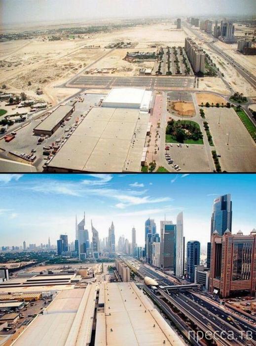 Как изменился Дубай за 25 лет (14 фото)