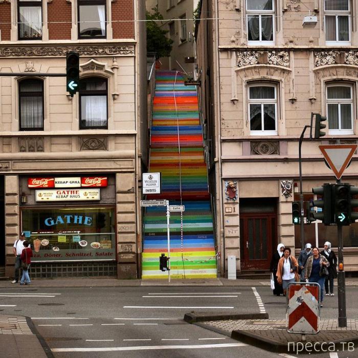 Необычные лестницы мира (11 фото)