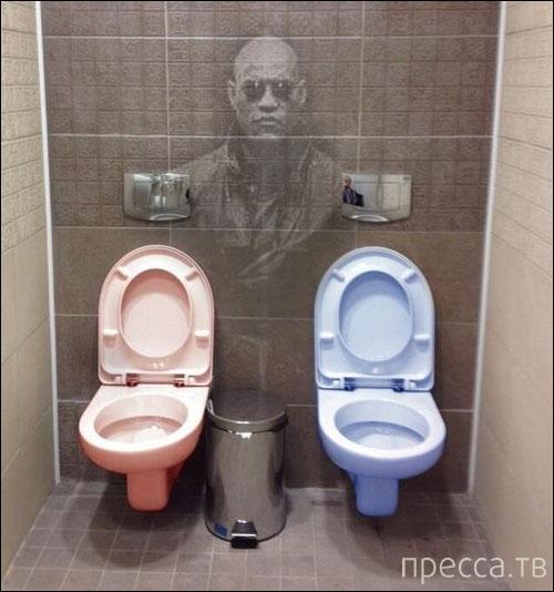 Ужас в туалете