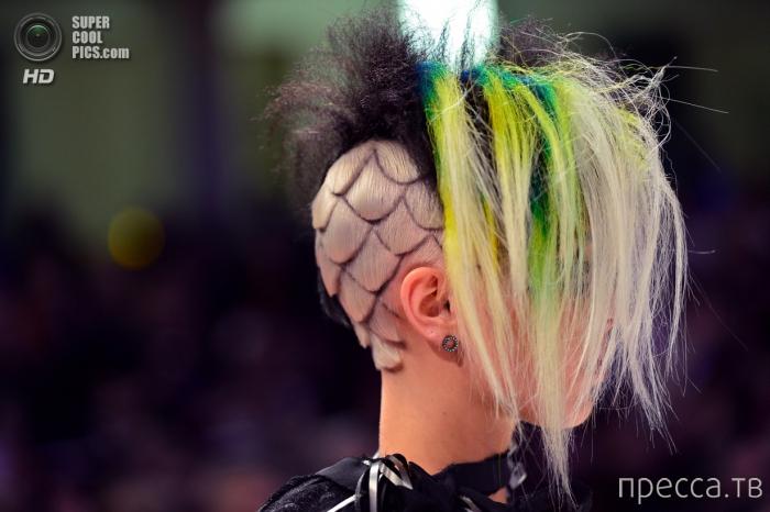 OMC Hairworld 2014 - Чемпионате Мира по парикмахерскому искусству во Франкфурте-на-Майне (21 фото)