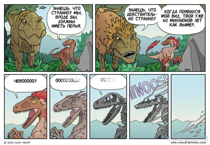 Веселые комиксы и карикатуры, часть 124 (14 фото)