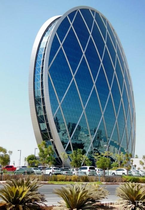 Штаб-квартира Aldar Properties в Абу-Даби (8 фото)