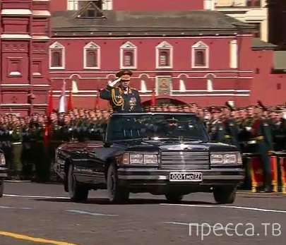 Парад в честь Победы в Великой Отечественной Войне на Красной площади в Москве, 9 мая 2014