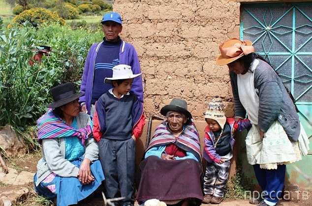 Секреты долголетия. Перуанке Филомене Тайпе Мендосе - 116 лет (6 фото)