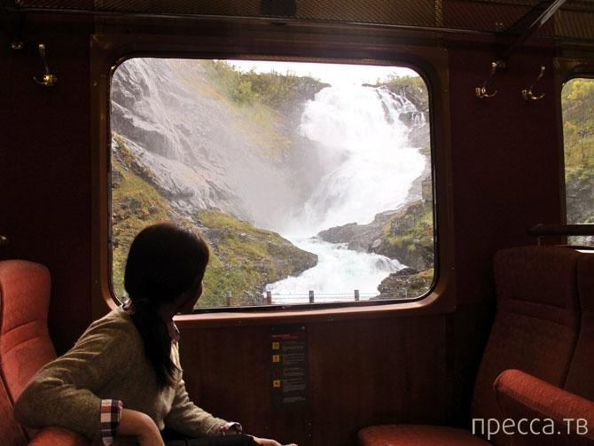 Комфортное путешествие на роскошных поездах (32 фото)