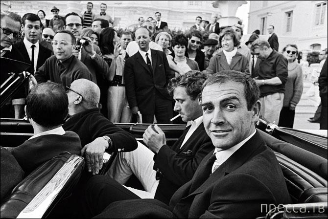 Самые яркие исторические снимки Каннского кинофестиваля (12 фото)