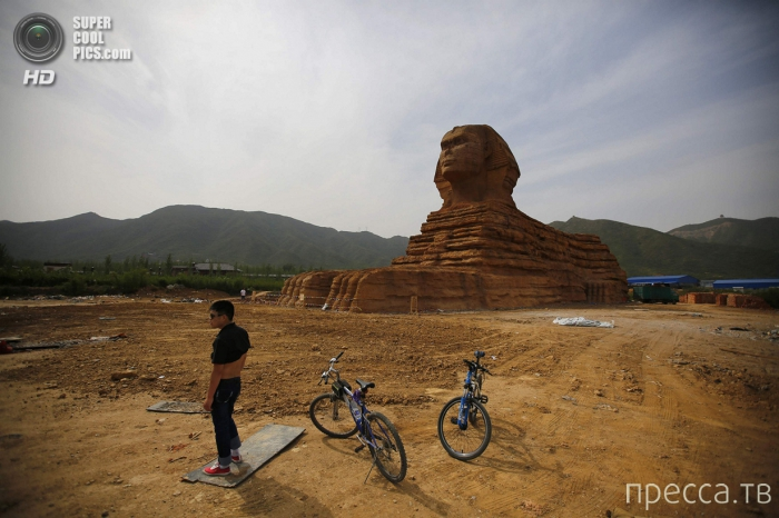 Большой Сфинкс в Китае (15 фото)