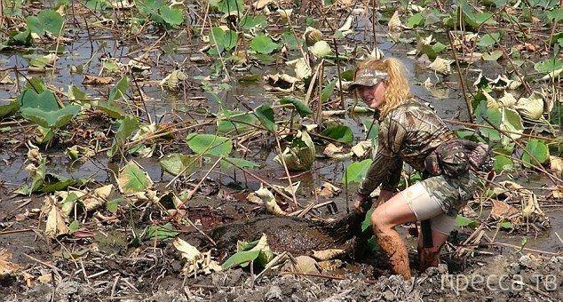 30-летняя Кристи Пизани - профессиональная лучница, стреляющая покруче эльфиек (11 фото)