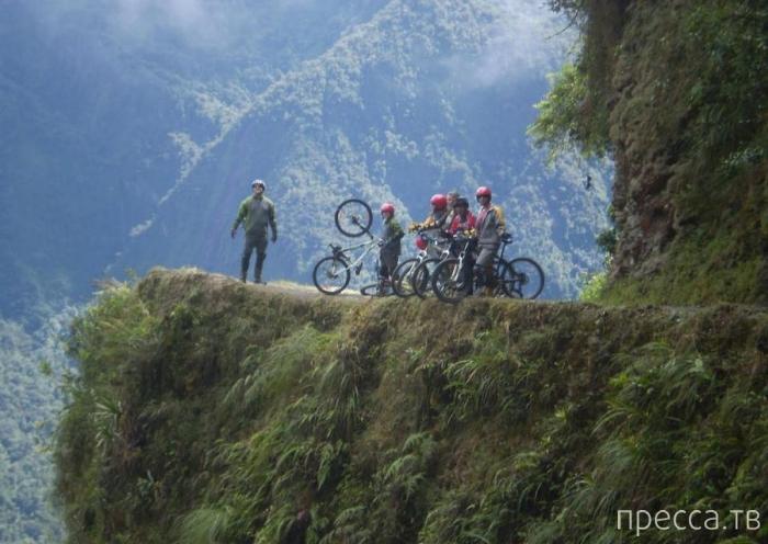 Дорога Смерти в Боливии (8 фото)