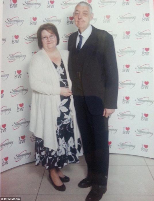 55-летний Алан Оутс похудел на 121 кг из-за жены (8 фото)